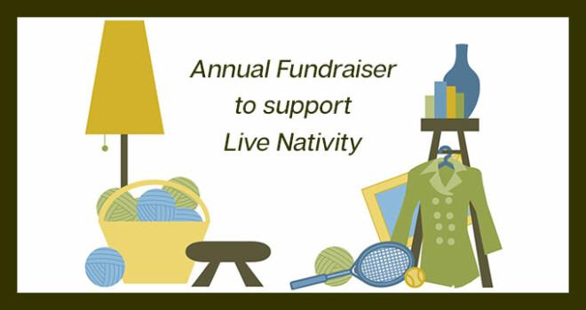 Live Nativity Garage Sale Fundraiser