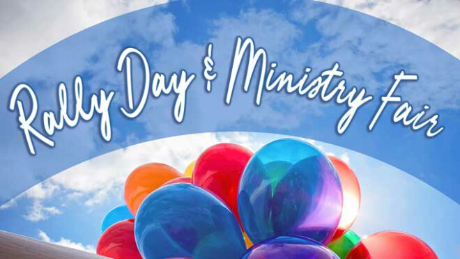 Rally Day & Ministry Fair