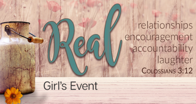 Girl's REAL Event