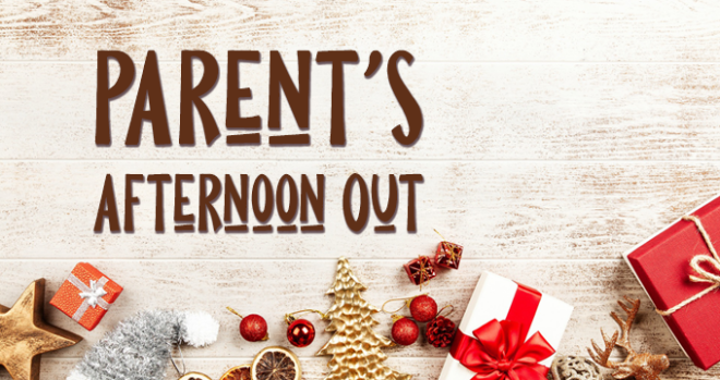Parent's Afternoon Out | Youth Ministry Fundraiser